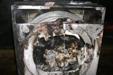 Tumble Dryer Fire Nottingham