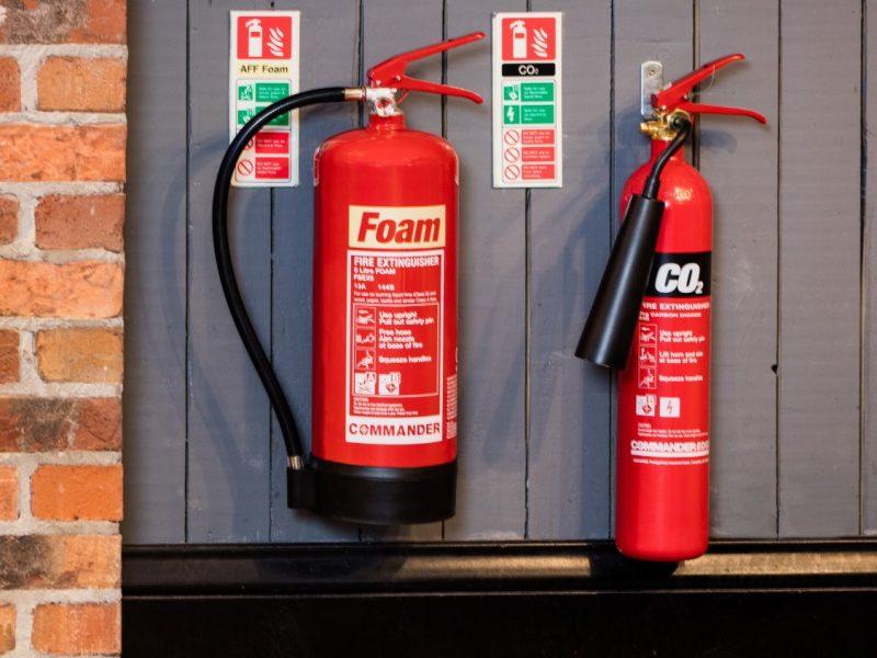 Extinguisher-install
